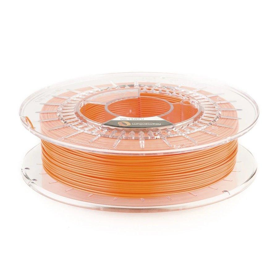 Flexfill 98A Carrot Orange: semi-flexibel 3D filament, 500 grams-1