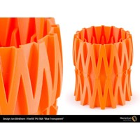 thumb-Flexfill 98A Carrot Orange: semi-flexibel 3D filament, 500 grams-3