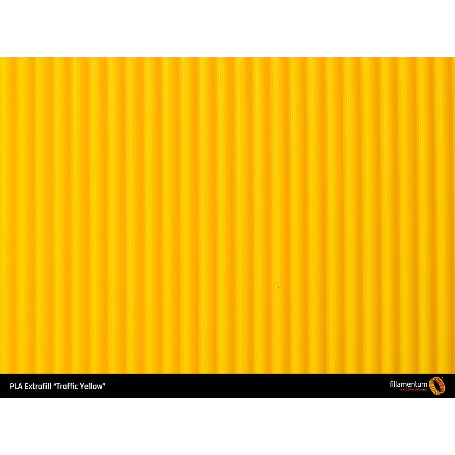 PLA Traffic Yellow, RAL 1023 / Pantone 1235, 750 grams (0.75 KG) 3D filament-3