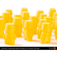 thumb-PLA Traffic Yellow, RAL 1023 / Pantone 1235, 750 grams (0.75 KG) 3D filament-4