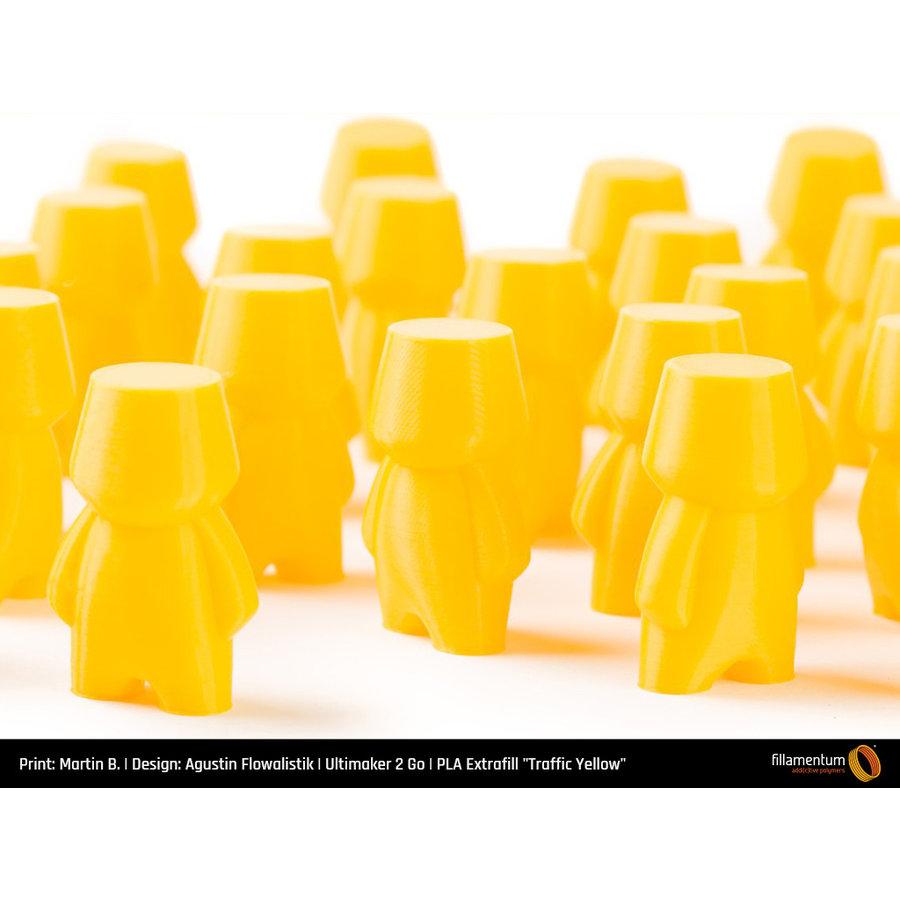 PLA Traffic Yellow, RAL 1023 / Pantone 1235, 750 grams (0.75 KG) 3D filament-4