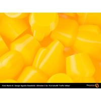 thumb-PLA Traffic Yellow, RAL 1023 / Pantone 1235, 750 grams (0.75 KG) 3D filament-5