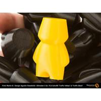 thumb-PLA Traffic Yellow, RAL 1023 / Pantone 1235, 750 grams (0.75 KG) 3D filament-6