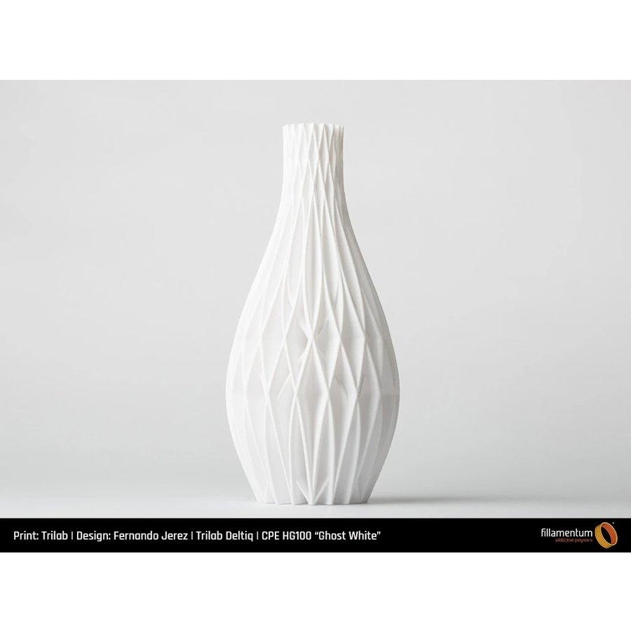 CPE (copolyester) filament HG100 Gloss, Ghost White, verbeterd PETG-4