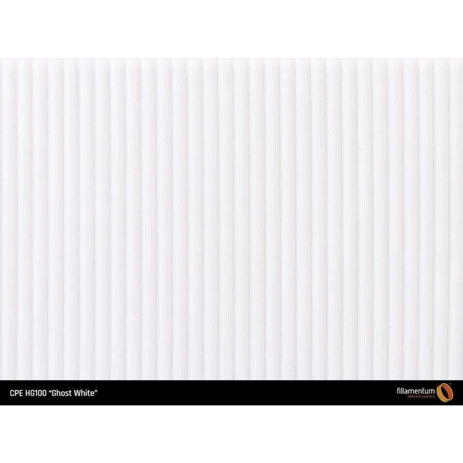 CPE (copolyester) filament HG100 Gloss, Ghost White, verbeterd PETG-5