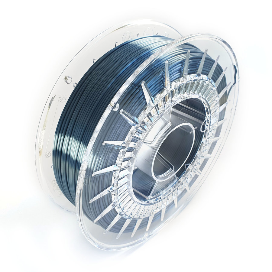 Steel Blue-hoog glans 3D filament, 700 grams-4