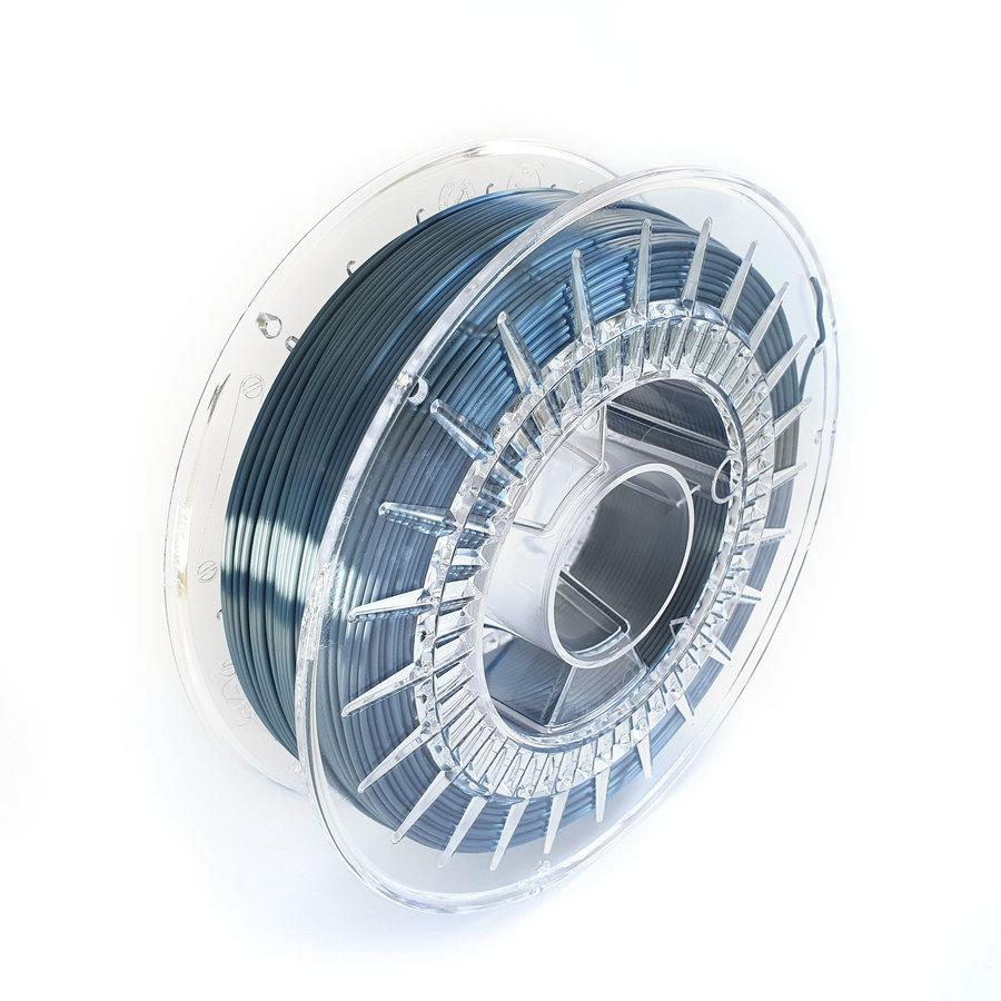 Steel Blue-extreme shine 3D filament, 700 grams-2