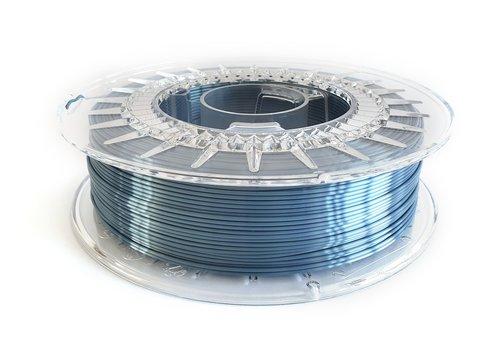 HALO Steel Blue-extreme shine 3D filament, 700 grams