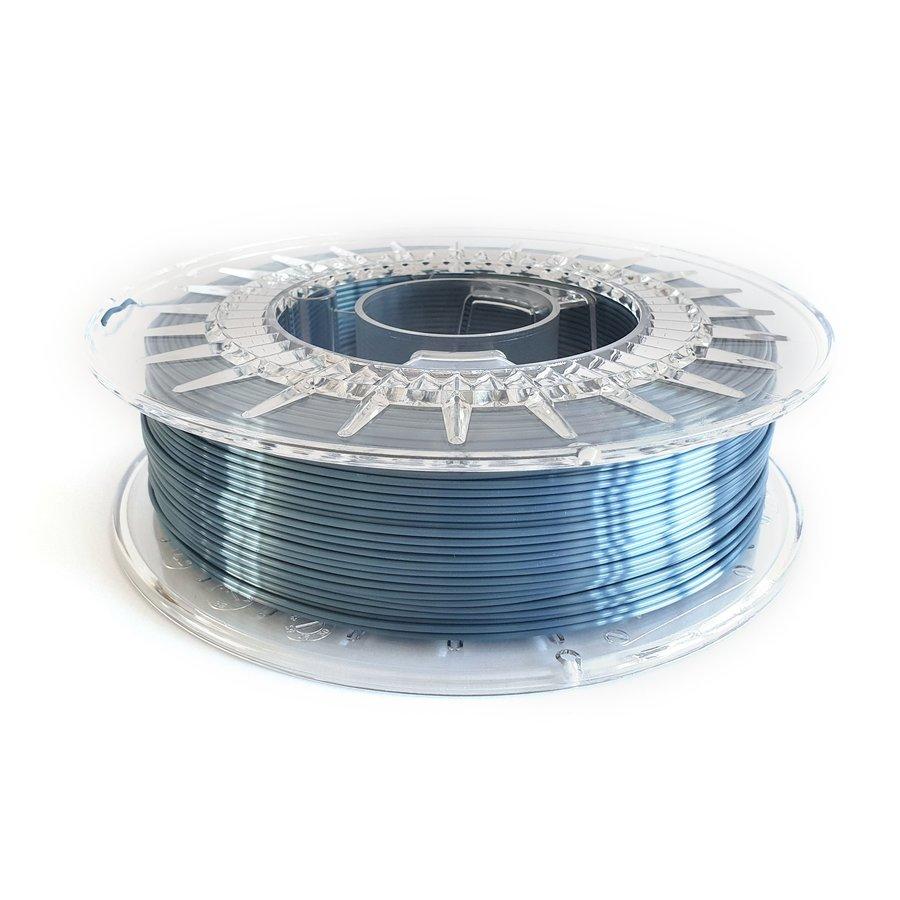 Steel Blue-extreme shine 3D filament, 700 grams-1
