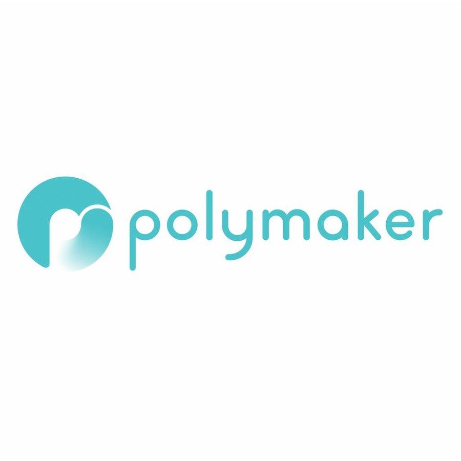 PolyTerra™ PLA zwart, 1KG, Charcoal Black, 1.000 gram 3D filament-3