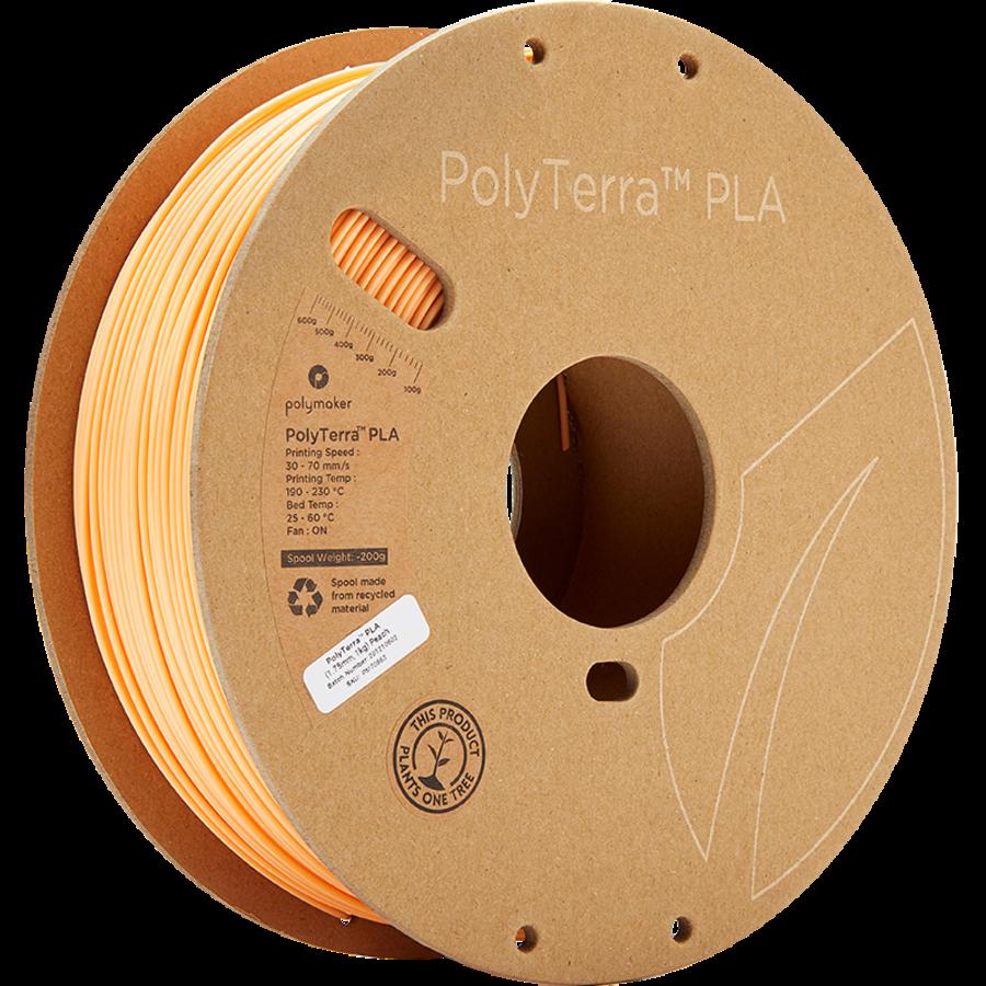 PolyTerra™ PLA perzik, 1 KG, Peach, 1.000 gram 3D filament-5