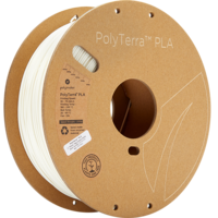 thumb-PolyTerra™ PLA Cotton White/wit, 1.000 gram (1 KG) 3D filament-5