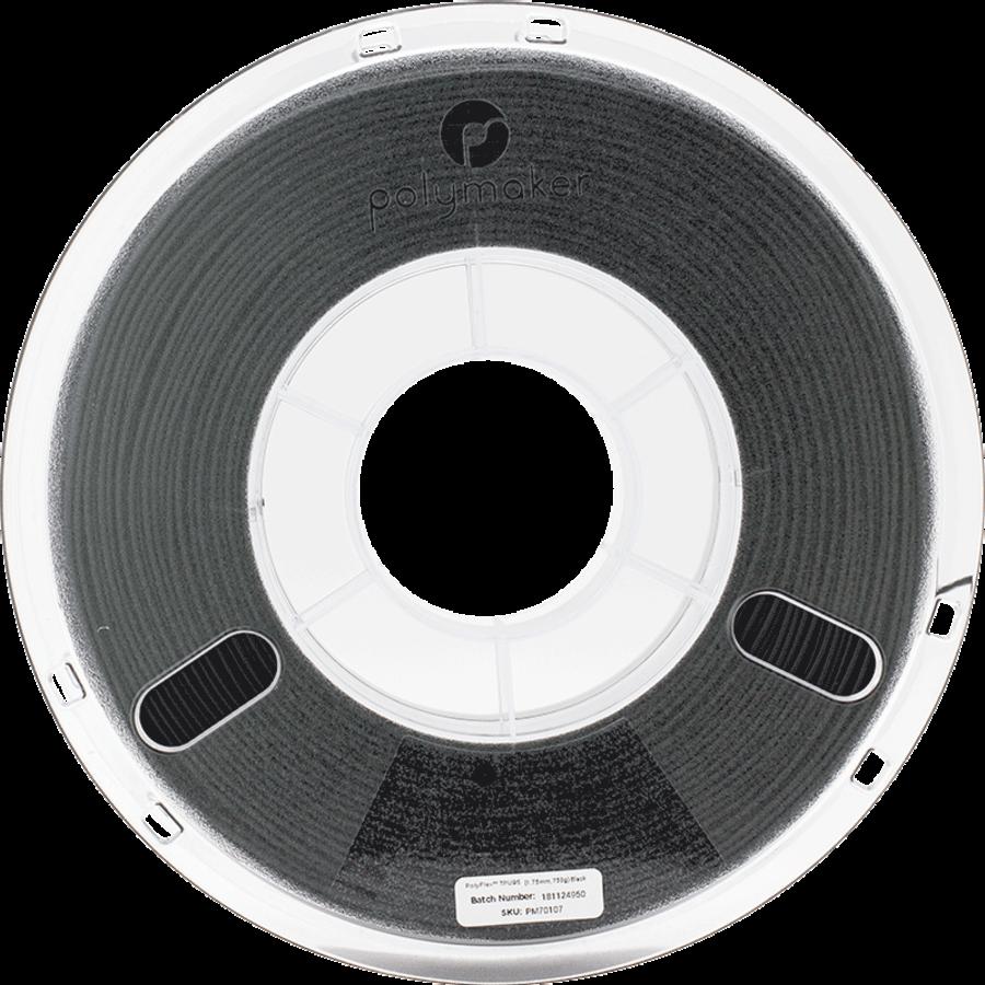 PolyFlex™ TPU95-High Flow, Black, flexible filament - 1 KG/1000 grams-4