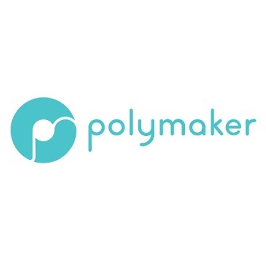 PolyFlex™ TPU95-High Flow, white, flexible filament - 1 KG/1000 grams-2