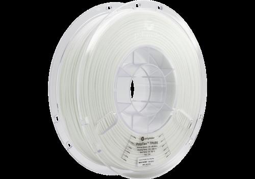 Polymaker PolyFlex™ TPU95-High Flow, White/wit, flexibel filament - 1KG/1.000 gram