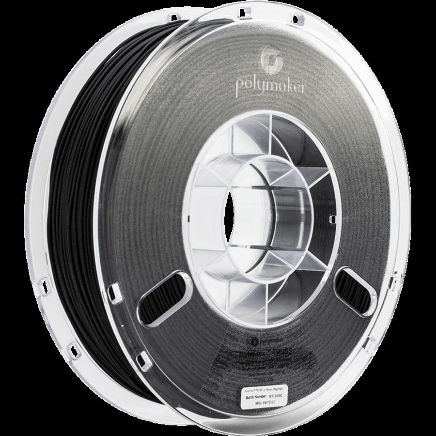 PolyFlex™ TPU90, Black, flexible filament - 750 grams-1