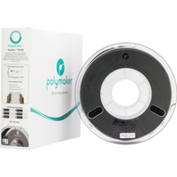 thumb-PolyFlex™ TPU90, Black, flexible filament - 750 grams-3