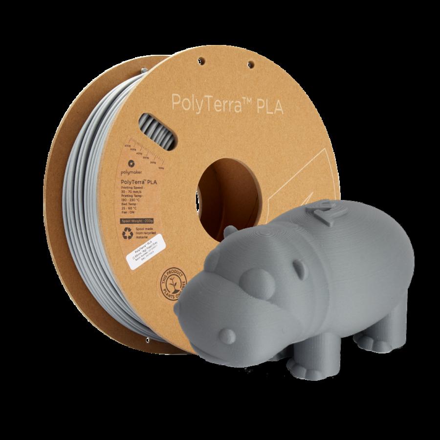 PolyTerra™ PLA Grijs, 1KG, Fossil Grey, 1.000 gram 3D filament-6
