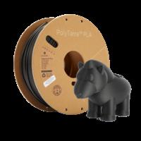 thumb-PolyTerra™ PLA zwart, 1KG, Charcoal Black, 1.000 gram 3D filament-7