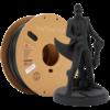 Polymaker PolyTerra™ PLA black, 1KG, Charcoal Black, 1.000 grams 3D filament