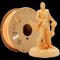 thumb-PolyTerra™ PLA perzik, 1 KG, Peach, 1.000 gram 3D filament-1