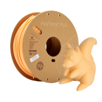 thumb-PolyTerra™ PLA Perzik/Pastel Oranje, 1KG 3D filament-5