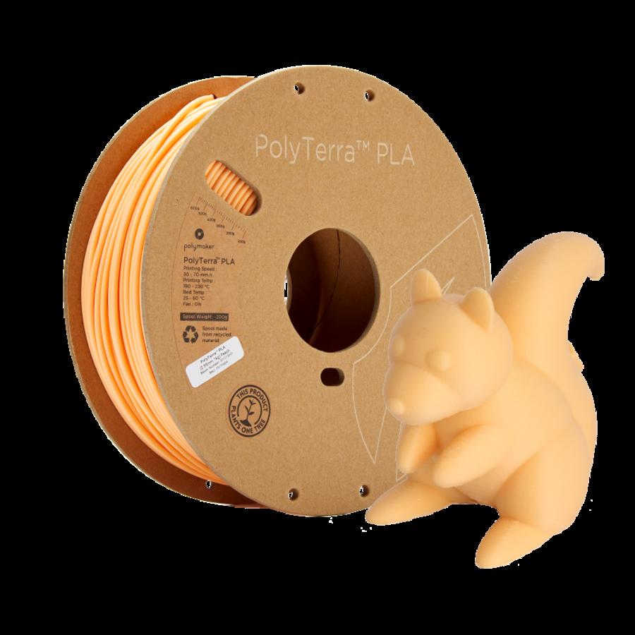 PolyTerra™ PLA Peach/Pastel Orange, 1KG 3D filament-5