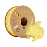 thumb-PolyTerra™ PLA Banaan/Pastel Geel, 1KG 3D filament-5