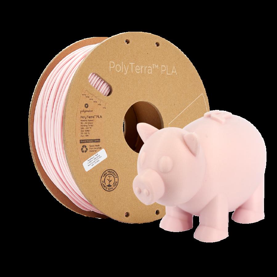 PolyTerra™ PLA Candy/Pastel Pink, 1KG 3D filament-5