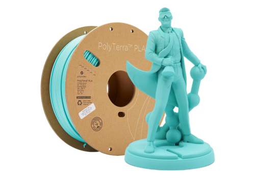 Polymaker PolyTerra™ PLA Arctic Teal/ Turquoise, 1KG 3D filament
