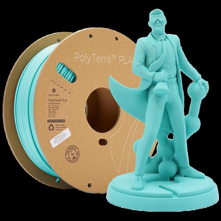 PolyTerra™ PLA Arctic Teal/ Turquoise, 1KG 3D filament-1