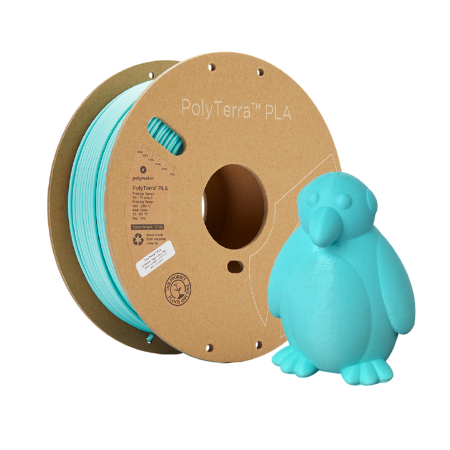 PolyTerra™ PLA Arctic Teal/ Turquoise, 1KG 3D filament-5