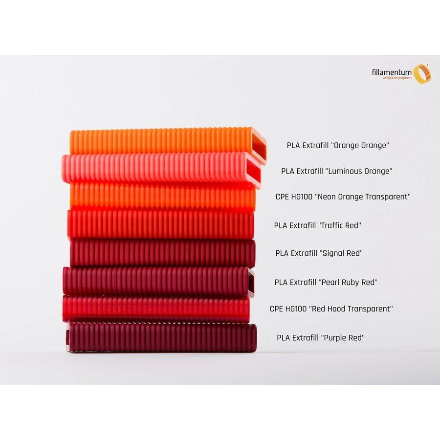 PLA Orange-Orange - RAL 2008/Pantone 1585, 750 grams 3D filament-2