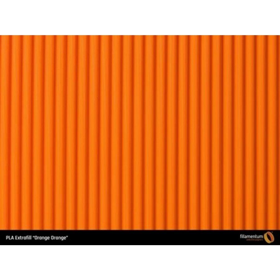 PLA Orange-Orange - RAL 2008/Pantone 1585, 750 grams 3D filament-3