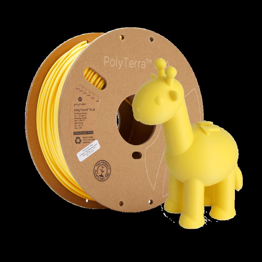 PolyTerra™ PLA Savannah Geel/Yellow-Pantone 2004, 1KG 3D filament-6