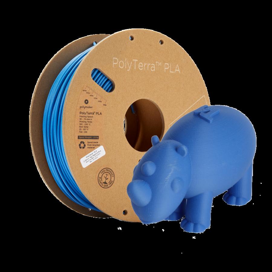PolyTerra™ PLA Sapphire Blauw/Blue-Pantone 3005, 1KG 3D filament-6
