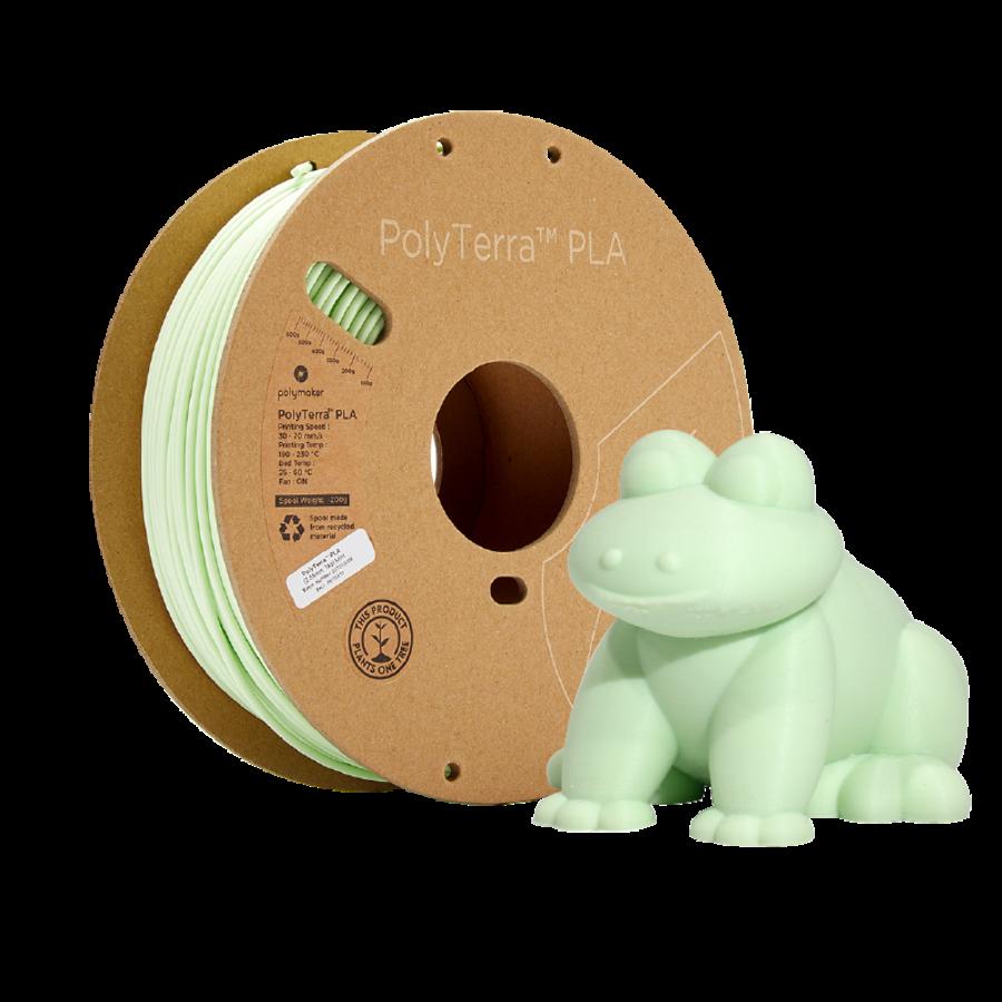 PolyTerra™ PLA Mint-Pantone 2282, 1KG 3D filament-5