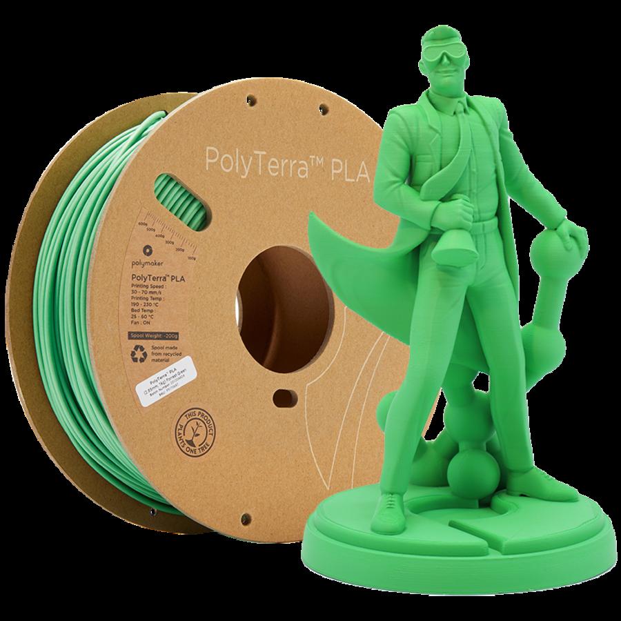 PolyTerra™ PLA Forest Green-Pantone 2256, 1KG 3D filament-1