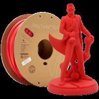 thumb-PolyTerra™ PLA Lava Red/Rood-Pantone 2235, 1KG 3D filament-1