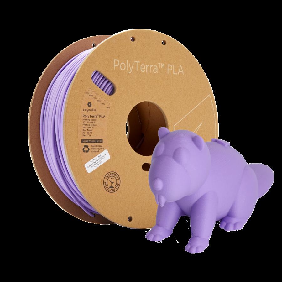PolyTerra™ PLA Paars/Lavender Purple-Pantone 2073, 1KG 3D filament-7