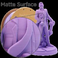 thumb-PolyTerra™ PLA Lavender Purple-Pantone 2073, 1KG 3D filament-4