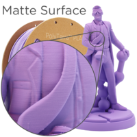 thumb-PolyTerra™ PLA Paars/Lavender Purple-Pantone 2073, 1KG 3D filament-4