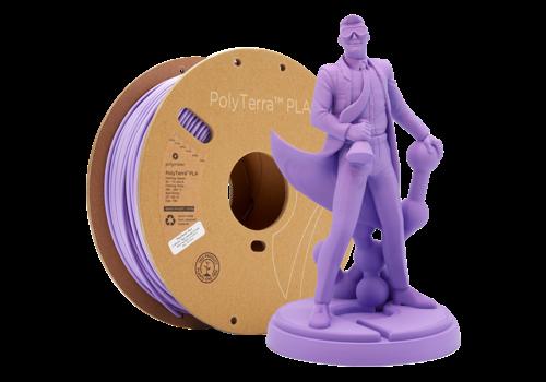Polymaker PolyTerra™ PLA Paars/Lavender Purple-Pantone 2073, 1KG 3D filament