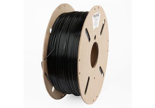 Plasticz NEW* PETG filament, 1 KG, Traffic Black/zwart RAL 9017,