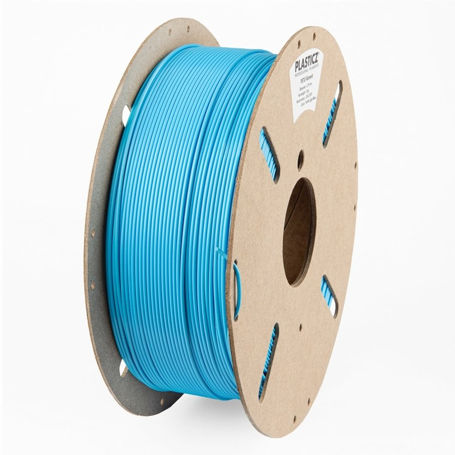 "PETG ""ECO-pack"" Light Blue, Pantone 298 - 1 KG filament-1"