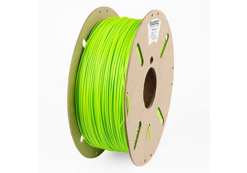 "Plasticz PETG  ""ECO-pack"" Appel Groen / Apple Green - RAL 6018 - 1 KG filament ECO-pack"