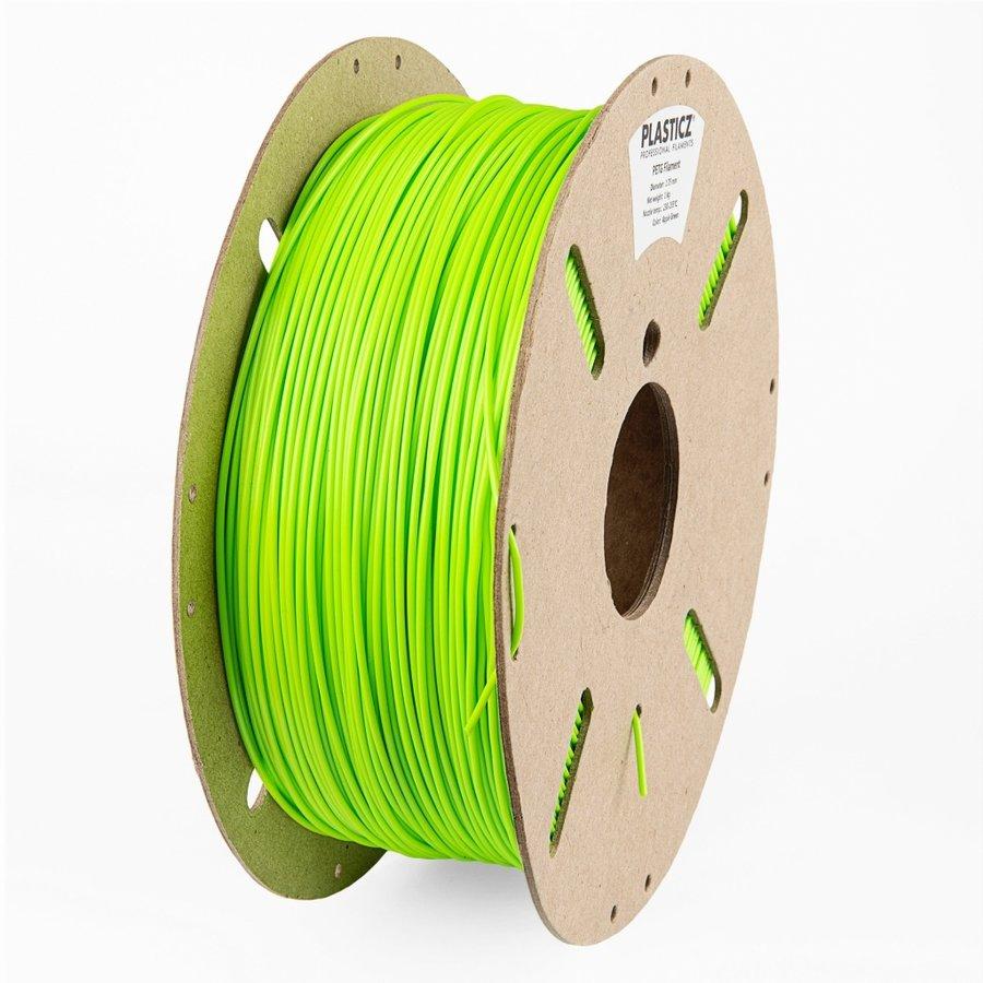 """PETG  """"ECO-pack"""" Appel Groen / Apple Green - RAL 6018 - 1 KG filament ECO-pack-1"""