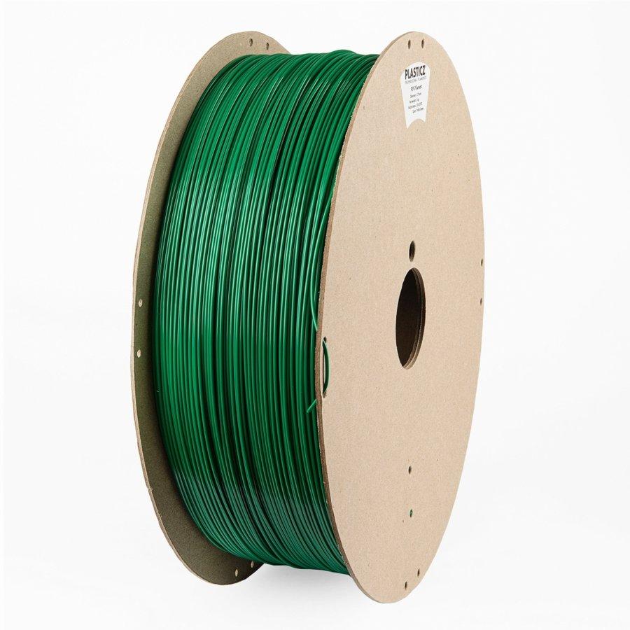 "PETG filament, 2 KG, ""ECO-pack"" Traffic Green RAL 6024-1"