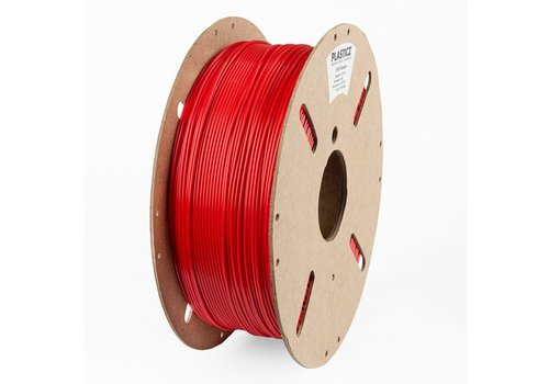 "Plasticz PETG ""ECO-pack"" Traffic Red / Verkeers Rood - RAL 3020, 1 KG filament"