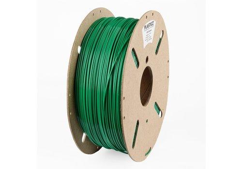 "Plasticz PETG ""ECO-pack"", Traffic Green RAL 6024, 1 KG filament"